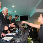 La clausura se llevó a cabo el día  26 de marzo del 2015, en las instalaciones del auditorio Adalberto Navarro Sánchez, del Centro Universitario  de  Ciencias Sociales y Humanidades de la Universidad de Guadalajara  CUCSH, ubicado de calle Guanajuato No. 1045.